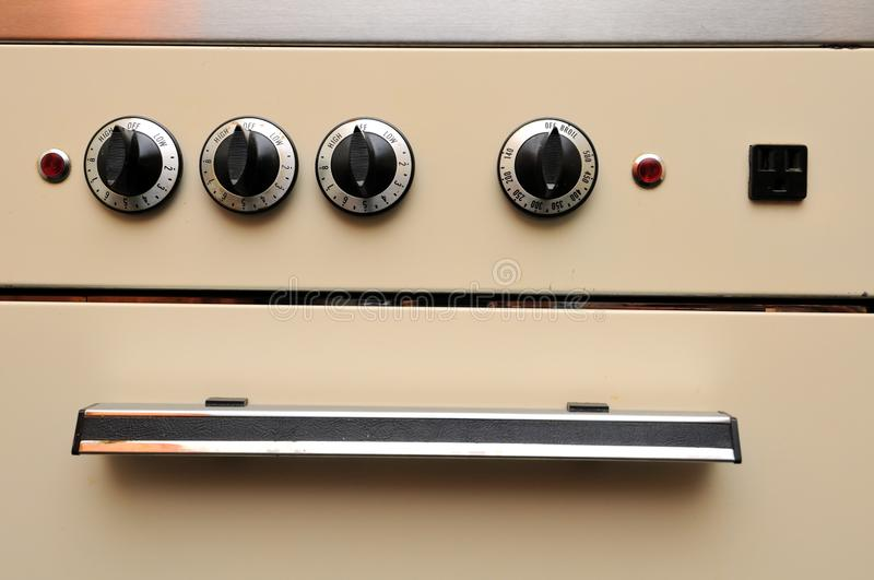Download Closeup of generic oven stock photo. Image of control - 19251622