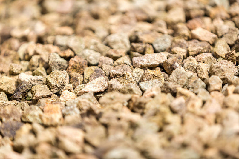 Closeup of Gravel stock images