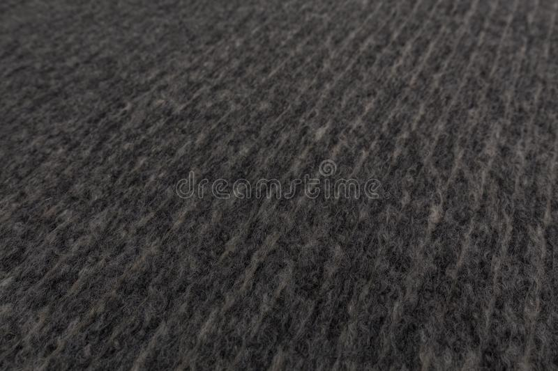 Closeup of gray fabric with textile texture background.  royalty free stock photos