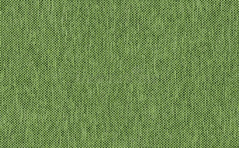 Closeup Green color fabric texture. brown and green fabric pattern design or upholstery abstract background. Closeup Green color fabric sample texture. brown royalty free stock photos
