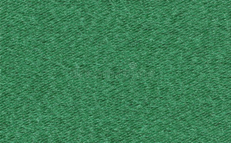 Closeup Green color fabric sample texture. Strip line black and green fabric pattern design or upholstery abstract background.  royalty free stock image