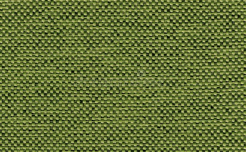 Closeup green,olive color fabric sample texture backdrop.Green Fabric strip line pattern design,upholstery,textile for decoration. Interior design or abstract stock images