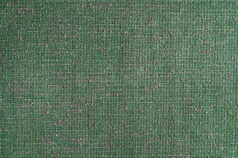 Closeup Green with pink color fabric texture. Geen fabric pattern design or upholstery abstract background.  stock photography