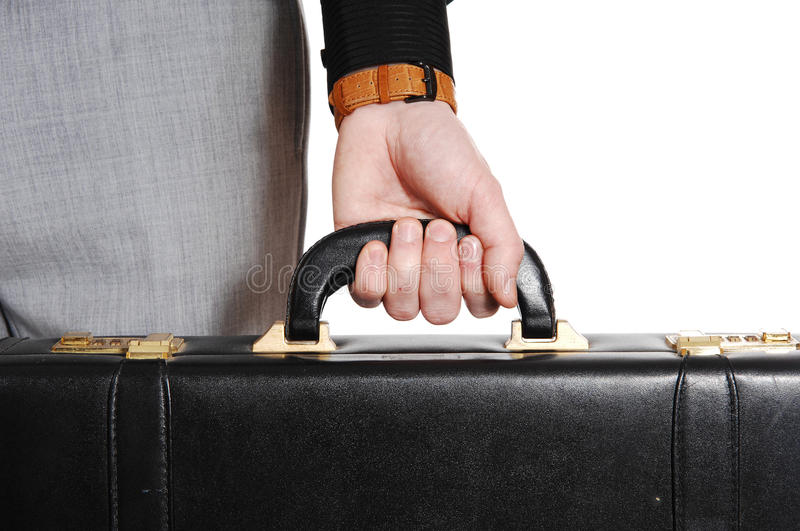 Download Closeup Of Hand And Briefcase. Stock Image - Image of up, collar: 39506081