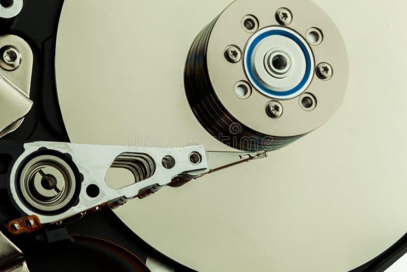 Closeup of a Hard Disk Drive stock photo