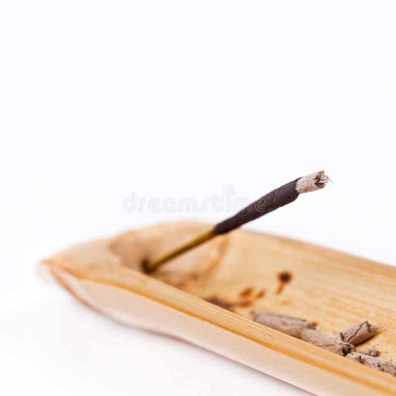 Download Closeup Of Incense Stick Burning Stock Photo - Image of copyspace, aroma: 26432388