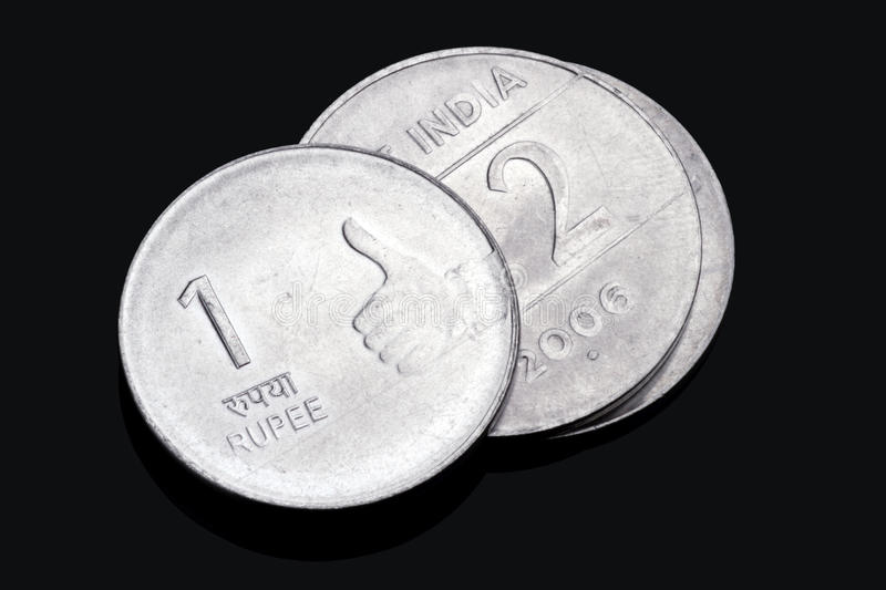 Download Closeup Of Indian Rupee Coins Stock Image - Image: 19704039