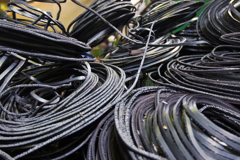 Industrial wire background royalty free stock photo