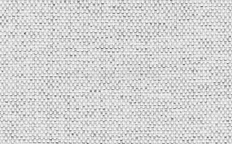 Closeup light grey ,white color fabric texture. Strip white fabric pattern design or upholstery abstract background.  royalty free stock images