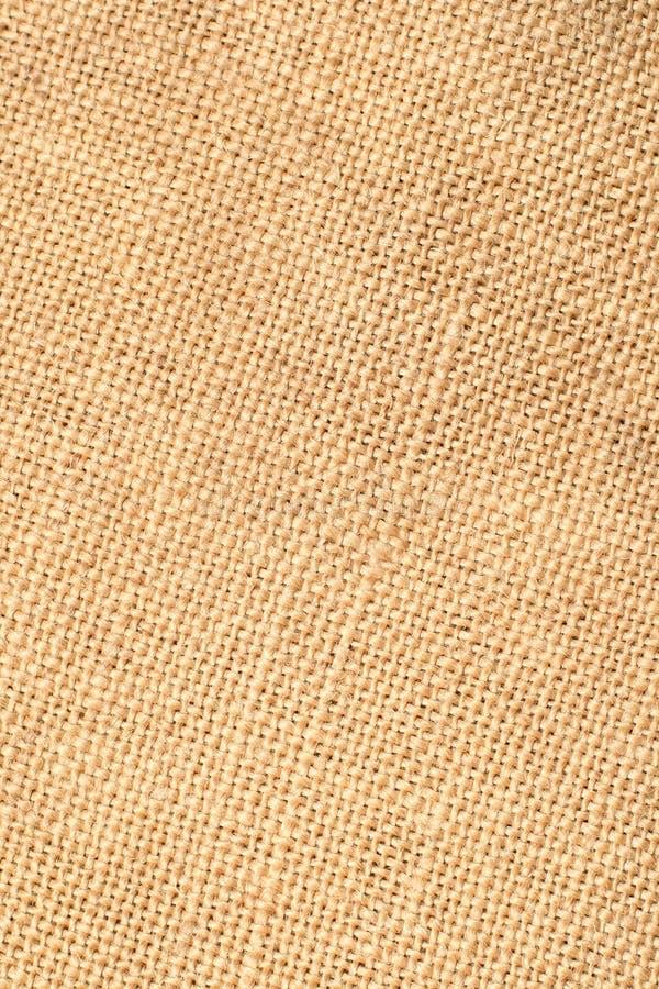 Closeup Of Linen Fabric Stock Photography