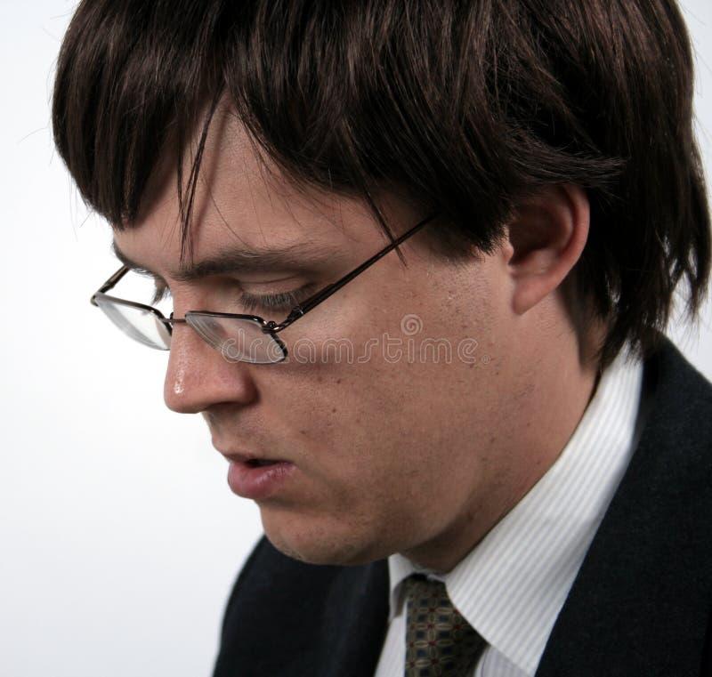 Closeup of a man royalty free stock image