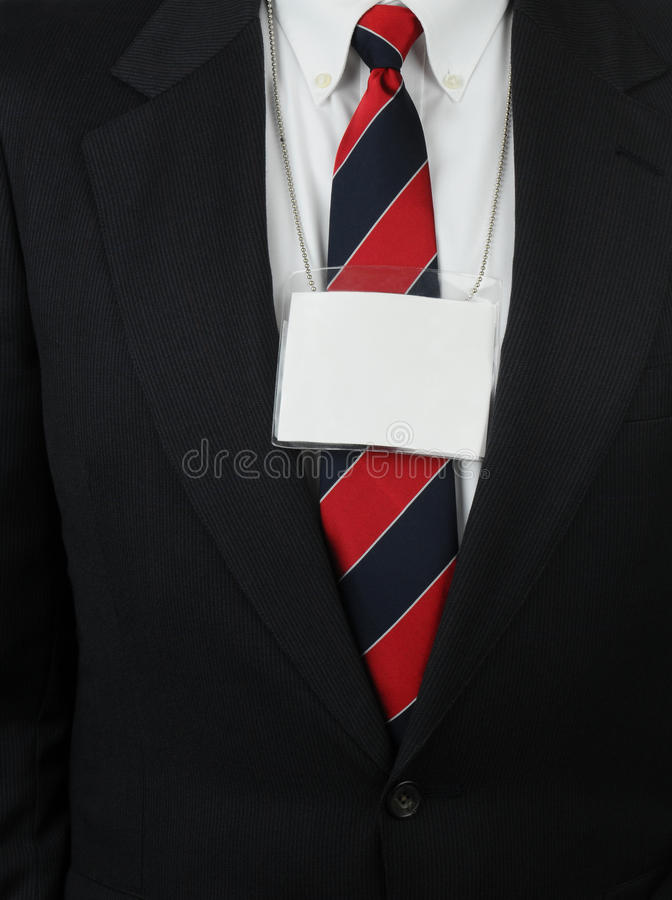 Download Closeup Man With ID Tag Hanging Around Neck Stock Image - Image: 23710541