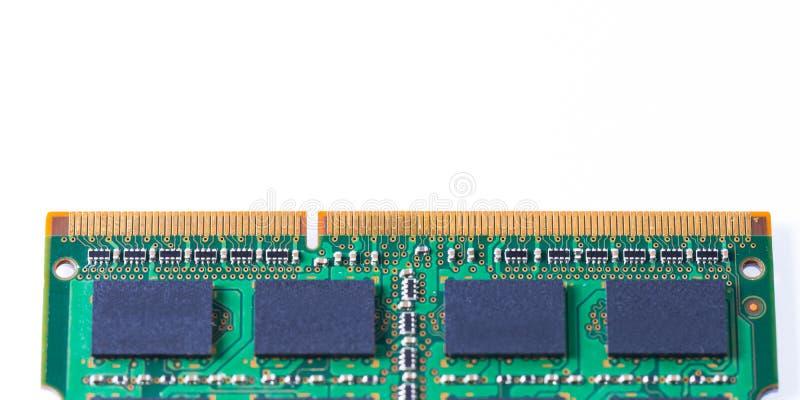 Memory Ram Module stock photo