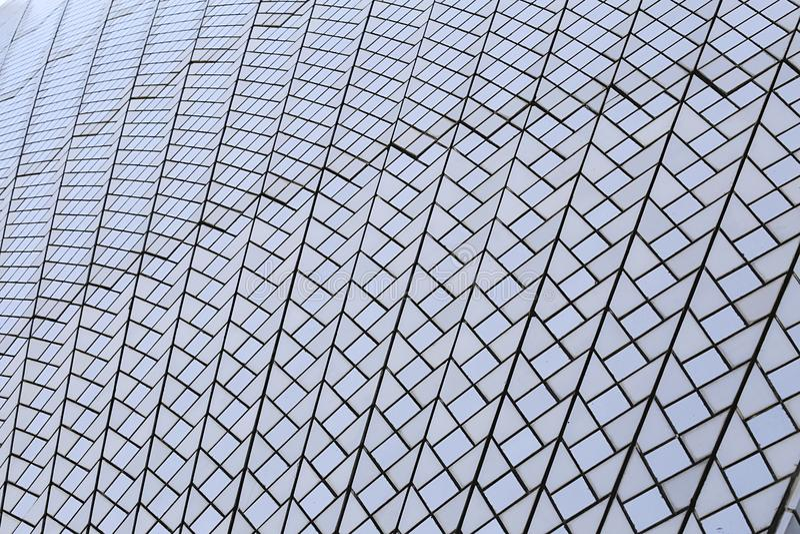 Modern architecture. Closeup of the modern geometric shape modern architecture royalty free stock photo