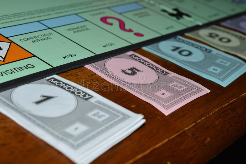 Monopoly money royalty free stock image