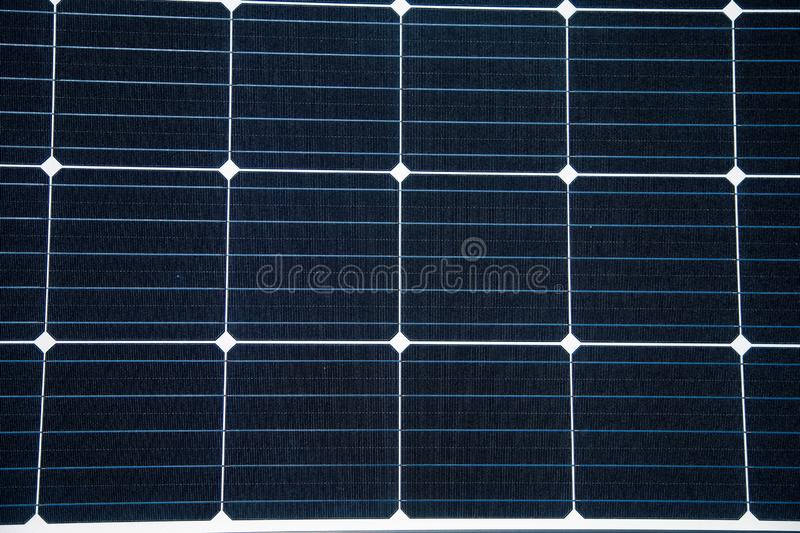 Closeup of a new solar panel. Renewabvle energy, ecological solution. Electricity generation. Clean sun energy royalty free stock photos