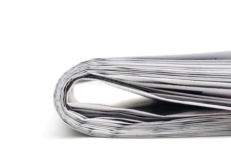 Closeup Of A Newspaper Stock Images