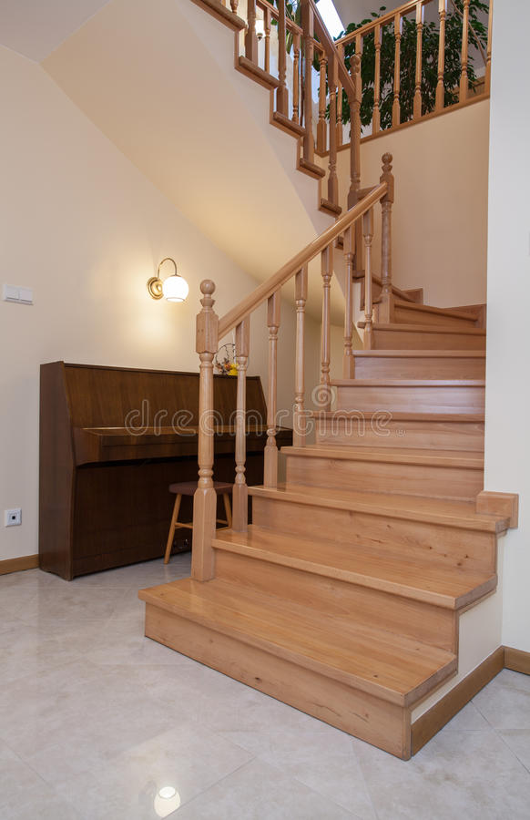 Free Closeup Of A Staircase Stock Photography - 28288962