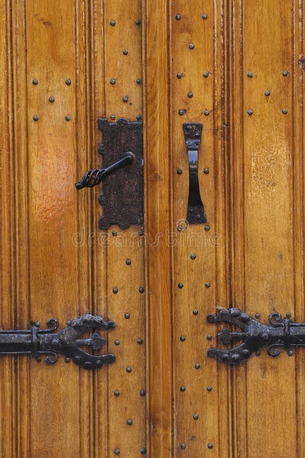 Free Closeup Of Church Doors, Enkhuizen, The Netherlands Royalty Free Stock Images - 159820099