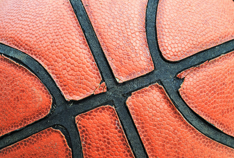 Basketball Closeup Stock Photo