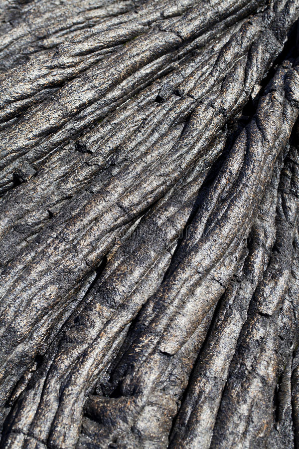 Download Closeup Of Old Dried Lava Flow Hawaii Stock Image - Image: 22633139