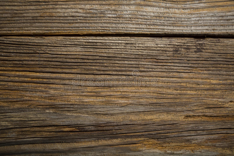 Closeup Old Grunge weathered wood textured background stock photography