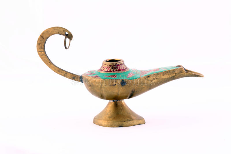 Closeup Of Old Middle Eastern Style Lamp Stock Photography