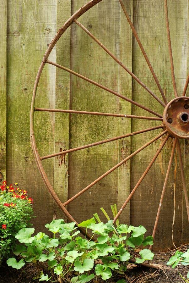 Free Closeup Old Wagon Wheel Stock Photo - 21865090