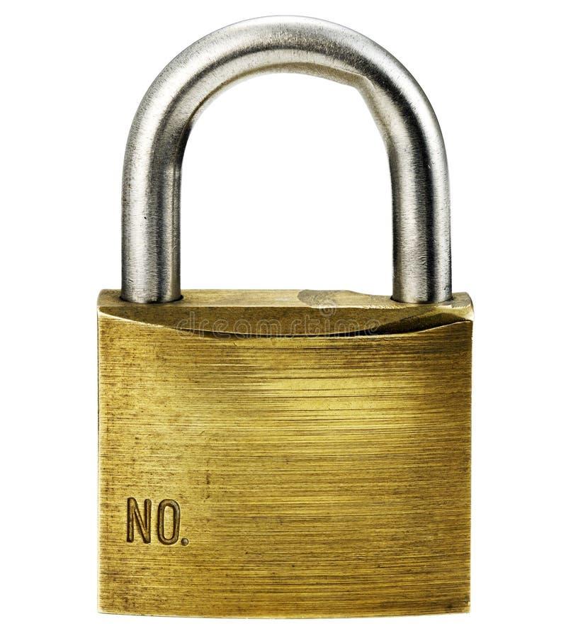 Download Closeup of padlock stock photo. Image of shiny, isolated - 20453898