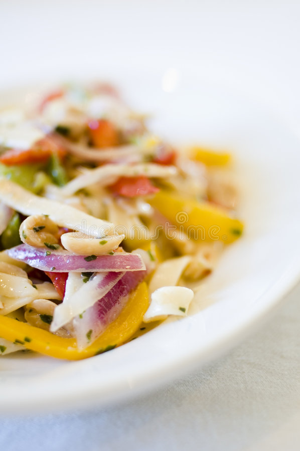 Closeup pasta royalty free stock photography