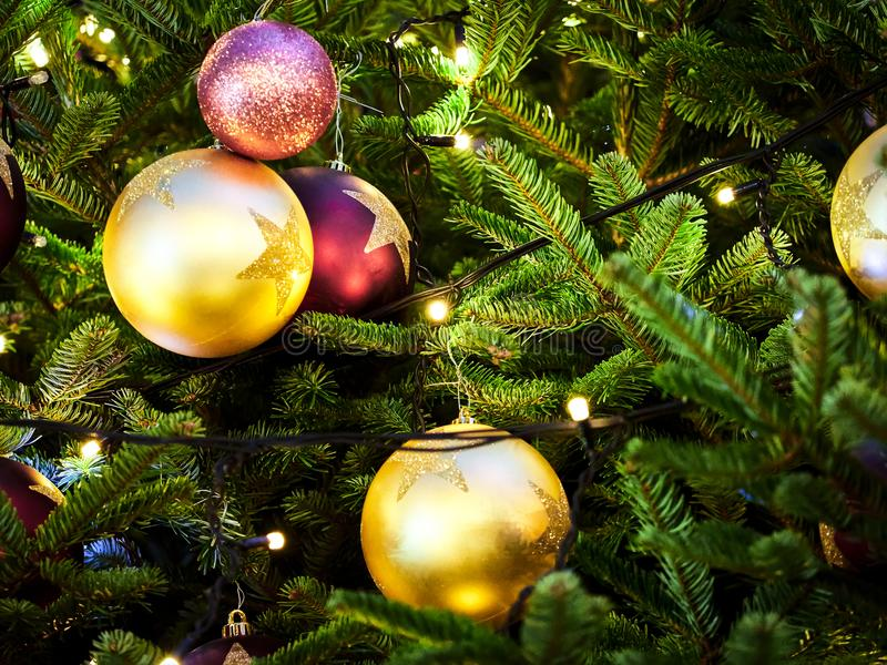 closeup photo of beautiful christmas tree ornaments - Beautiful Christmas Ornaments
