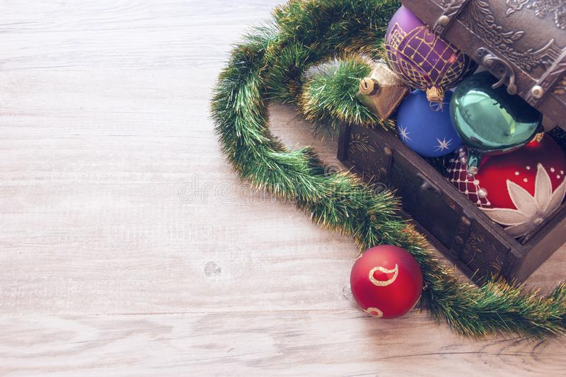 Closeup Photo of Christmas Decors stock photography