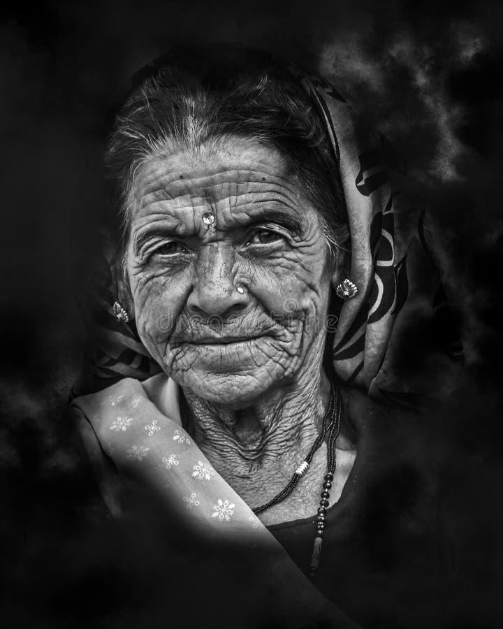 Closeup Photo de Woman Portrait images stock