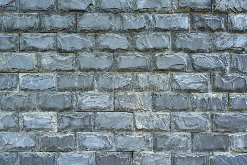 Closeup Photo of Jagged Gray Stone Wall stock images