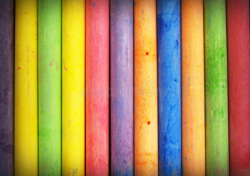 Closeup Photo of Multi Color Stick royalty free stock image
