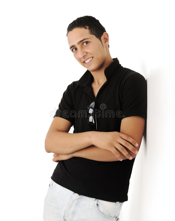 Free Closeup Photo Of A Middle Eastern Guy Standing Royalty Free Stock Images - 29124039