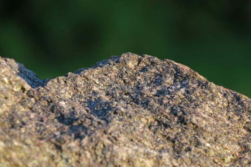 Closeup photo of stone with a beautiful patterns royalty free stock photo
