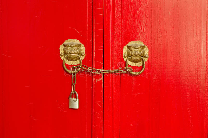 Download Closeup Photo Of Traditional Door And Locks Royalty Free Stock Photos - Image: 28466518