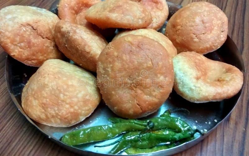 Delicious Indian Kachoris royalty free stock photography