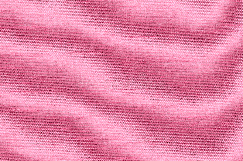 Closeup pink rose color fabric sample texture. Pink Fabric strip line pattern design,upholstery for decoration interior design or royalty free illustration