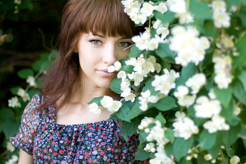 Download Closeup Portrait Of A Beautiful Girl Stock Image - Image of enjoy, natural: 20578363