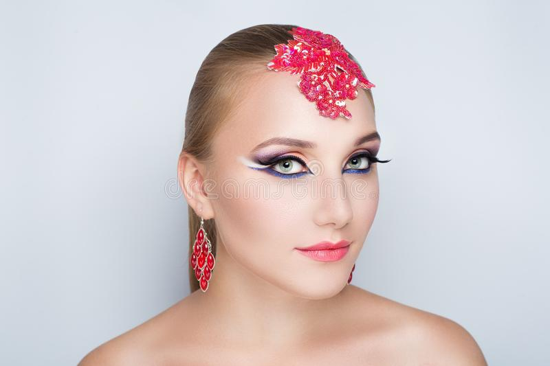 Arab make up stock images