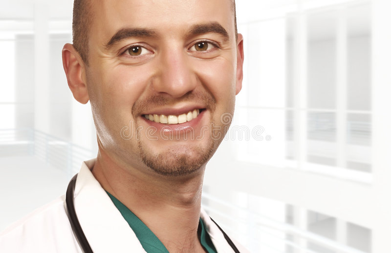 Download Closeup portrait of doctor stock image. Image of happy - 9247803