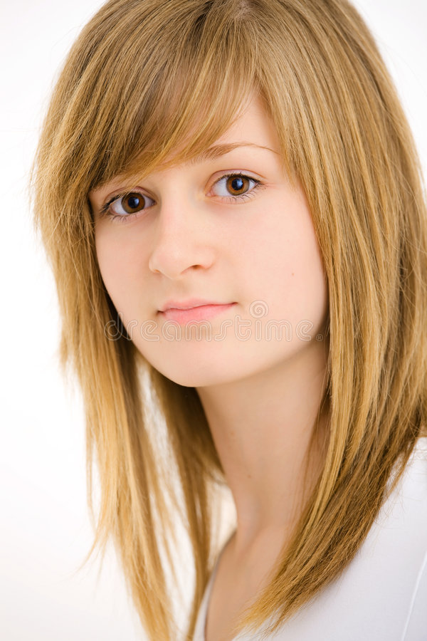 Free Closeup Portrait Of Teen Girl Stock Images - 8659224