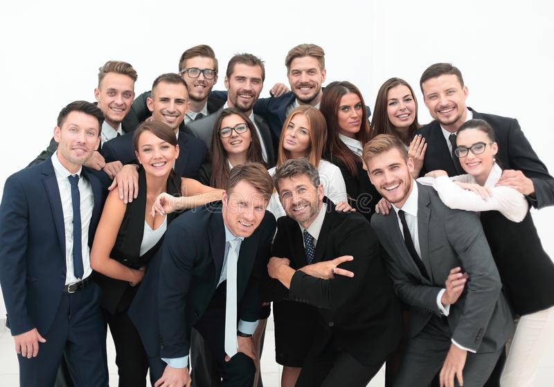 Portrait professional a great business team. royalty free stock photo