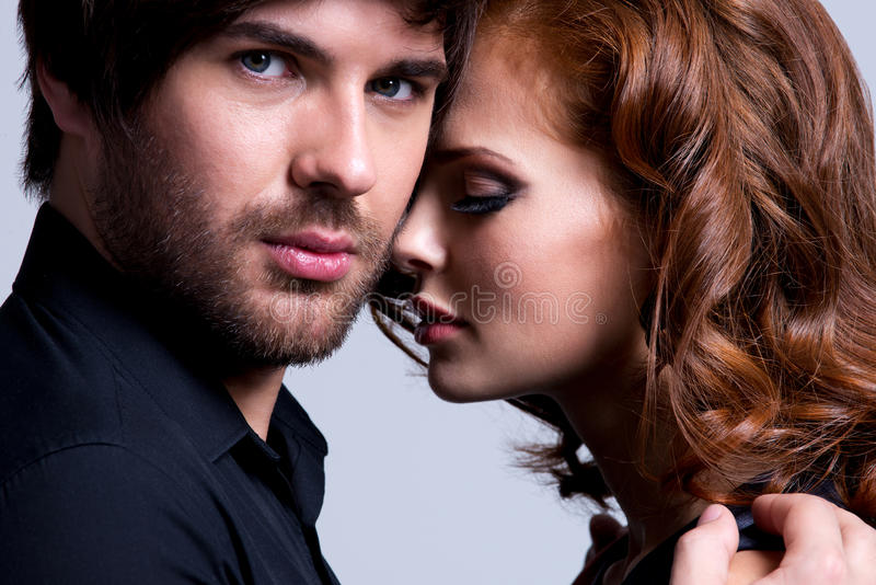 Download Closeup Portrait Of Couple In Love. Stock Image - Image: 39713273