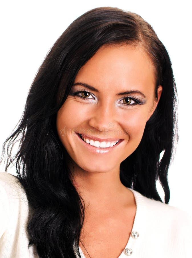 Smiling Female Stock Photo