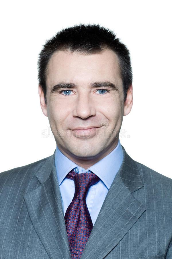 Download Closeup Portrait Of A Smiling Handsome Man Stock Photo - Image: 21164572