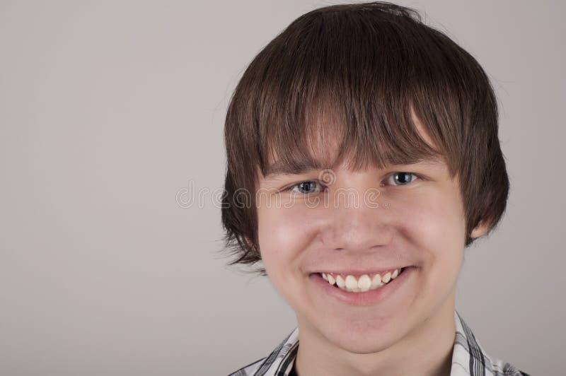 Closeup Portrait Of Teen Boy Stock Photos