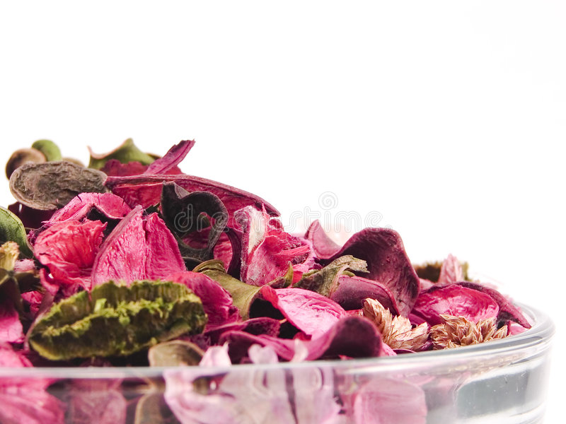 Closeup of potpourri royalty free stock photo